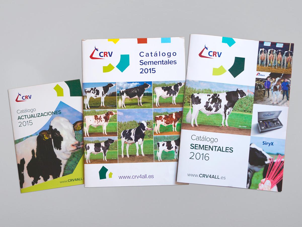 Catálogos para CRV Genetics España